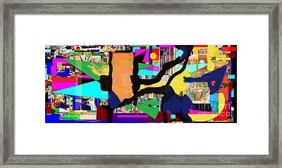 Daas 5a Framed Print by David Baruch Wolk