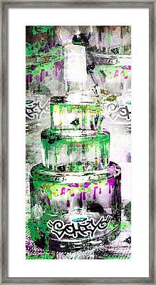 Dab Cake Sohiyo Tribute Framed Print by Andrew Kaupe