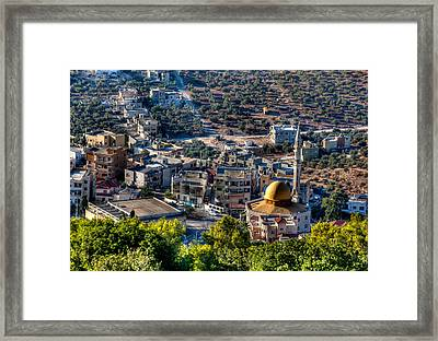 Framed Print featuring the photograph Daburia by Uri Baruch