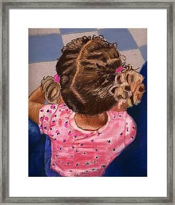 Daddy Did It Framed Print