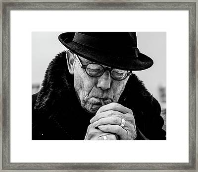 Daddy... Framed Print