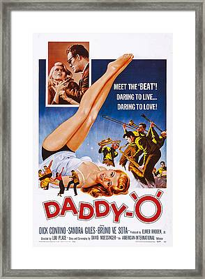 Daddy-o, Us Poster Art, 1959 Framed Print