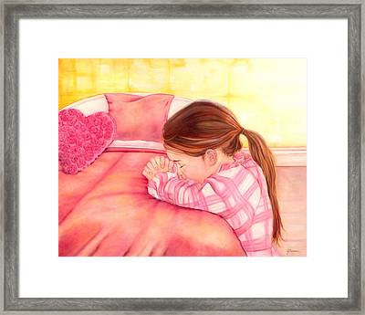 Daddy's Girl Framed Print by Jeanette Sthamann