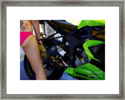 Daddy's Girl Framed Print by Steven Digman