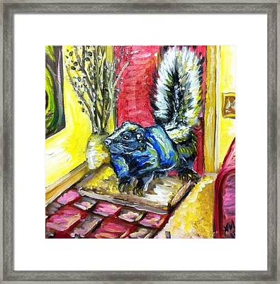 Daddy's Home Framed Print by Alexandria Weaselwise Busen