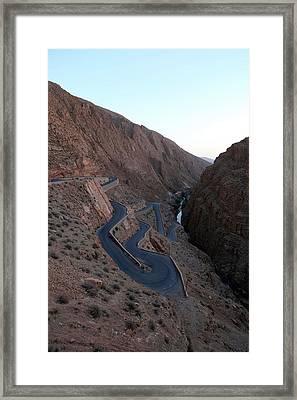 Dades Canyon Framed Print