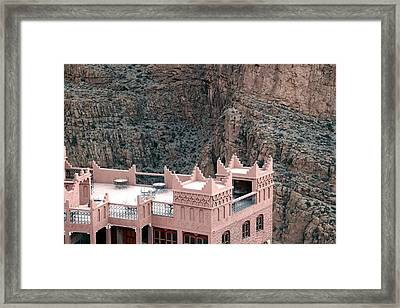 Dades Gorges Morocco Framed Print