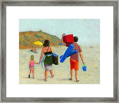 Dad's Day Off Framed Print by Karyn Robinson