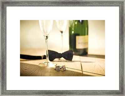 Framed Print featuring the photograph Dads Proud Day by Trevor Chriss