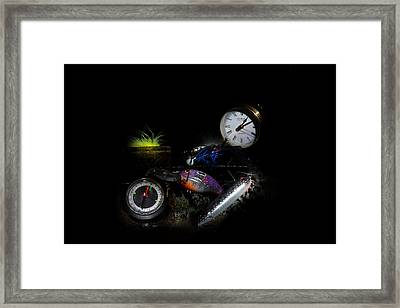 Dad's Stuff Framed Print by Cecil Fuselier