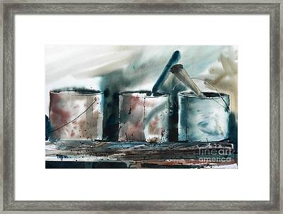 Dad's Tools Framed Print by Micheal Jones