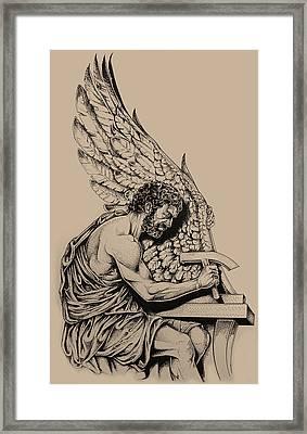 Daedalus Workshop Framed Print by Derrick Higgins