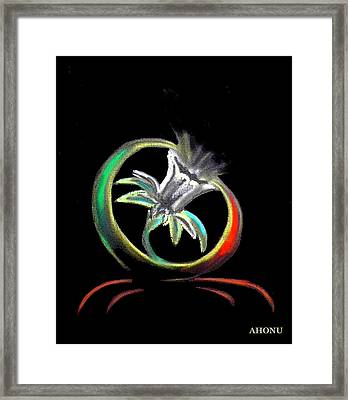 Daffodil In Spirit Framed Print