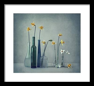 Glass Vase Framed Prints