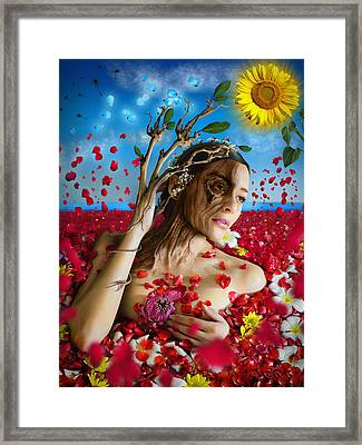 Dafne   Hit In The Physical But Hurt The Soul Framed Print