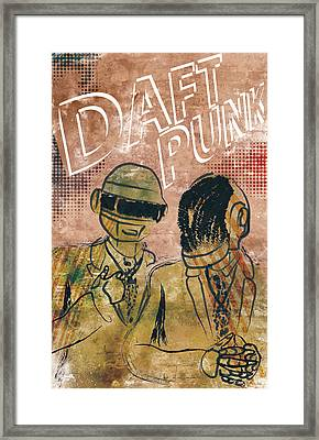 Daft Punk  Framed Print by Jackson