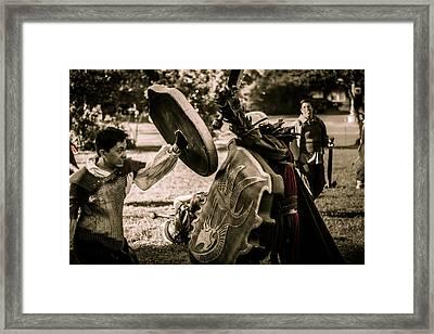 Dagorhir 4 Framed Print by David Morefield