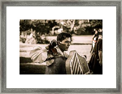 Dagorhir 5 Framed Print by David Morefield