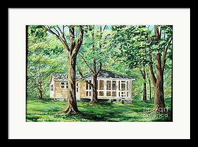 Screened Porchs Paintings Framed Prints