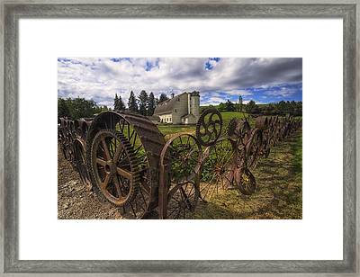 Dahmen Barn Framed Print by Mark Kiver