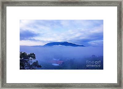 Dai Binh Mountain Dew Spread Framed Print