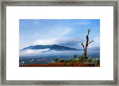 Dai Binh Mountain Framed Print
