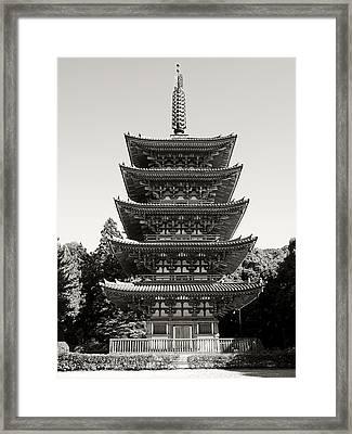 Daigo-ji Pagoda - Japan National Treasure Framed Print by Daniel Hagerman