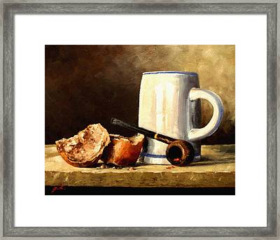 Daily Bread #3 Framed Print