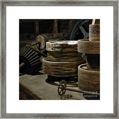 Framed Print featuring the photograph Daily Bread by Lee Craig