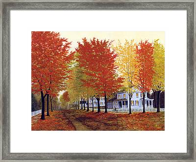 Framed Print featuring the painting Daily News by Rick Fitzsimons