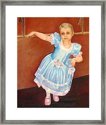 Dainty Diva Framed Print by Carol Allen Anfinsen