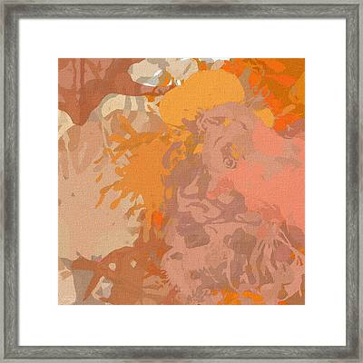 Dainty Visual Framed Print by Lourry Legarde