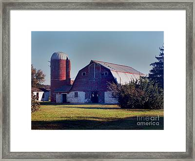 Dairy Barn Framed Print