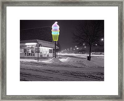 Dairy Deluxe Framed Print