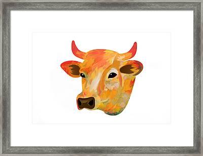 Dairy Queen Framed Print by Art Spectrum