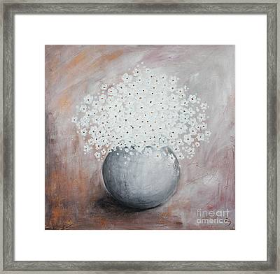 Daisies Framed Print by Home Art