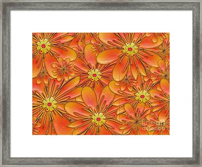 Daisies Framed Print by Liane Wright