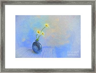 Daisies Framed Print by Veikko Suikkanen