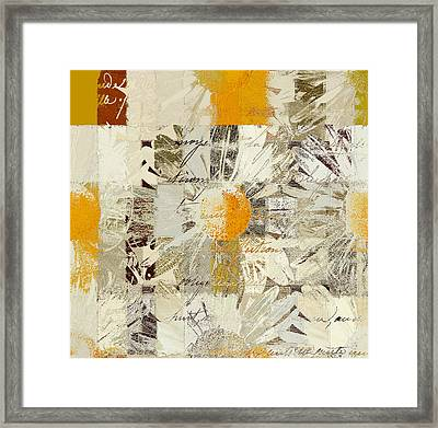Daising - J055112109 - 01 Framed Print by Variance Collections