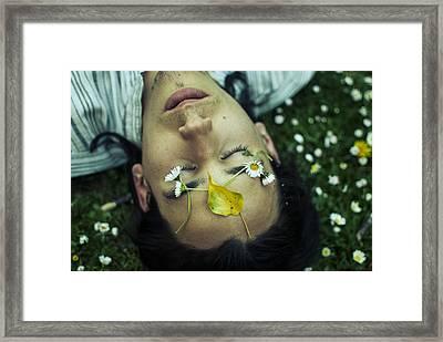Daisy And I Framed Print by Maia Rose