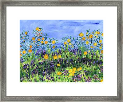 Daisy Days Framed Print