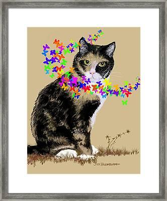 Daisy Framed Print by Jim Hubbard