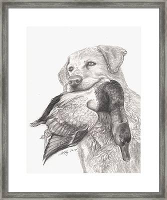 Daisy Framed Print by Kathleen Kelly Thompson