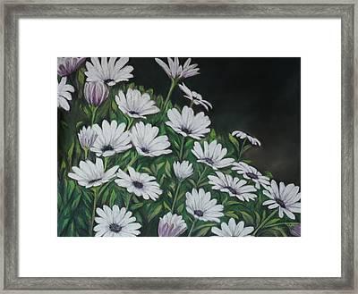 Daisy Mum Framed Print by Charlotte Yealey