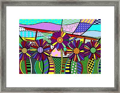 Daisy Plane Framed Print