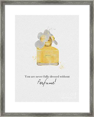 Daisy Framed Print by Rebecca Jenkins