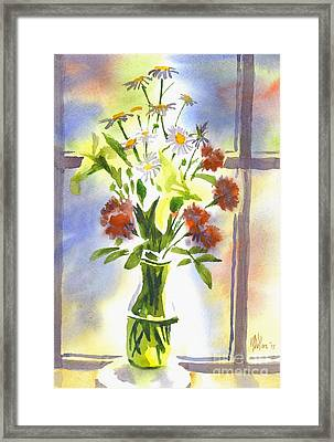 Daisy Supreme Framed Print by Kip DeVore