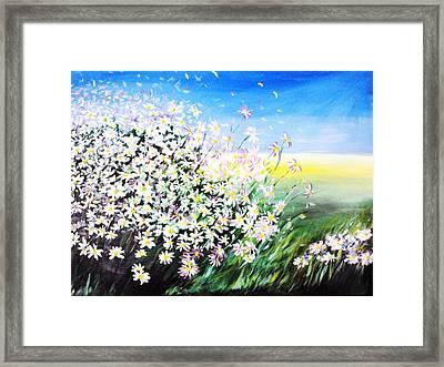 Daisy Framed Print by Svetlana Semenova