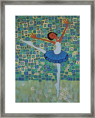 Daizies' Ballet Framed Print