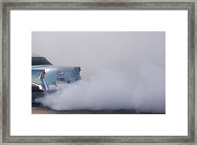 Daja Blu Framed Print